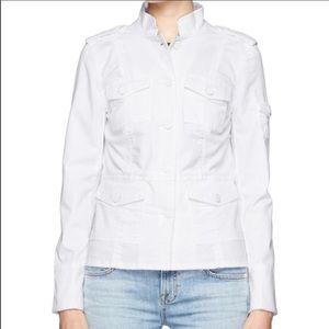 Tory Burch White Lightweight Jacket